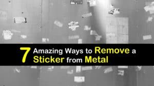 How to Remove a Sticker from Metal