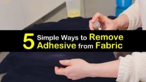 How to Remove Adhesive from Fabric titleimg1