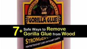 How to Remove Gorilla Glue from Wood titleimg1