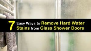 How to Remove Hard Water Stains from Glass Shower Doors titleimg1