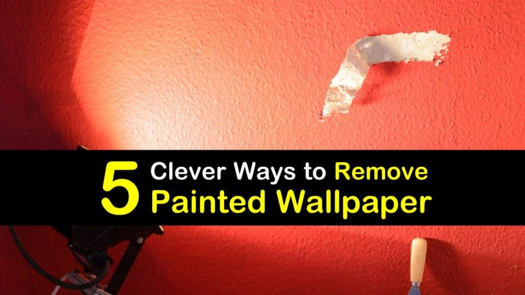 How to Remove Painted Wallpaper titleimg1