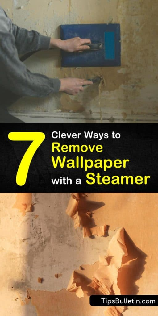 Get rid of your old wallpaper the easy way by using a wallpaper steamer. The only other tools you'll need are a drop cloth and a putty knife. Discover our simple ways to remove wallpaper with a steamer and make your remodel project a breeze. #remove #wallpaper #steamer #howto