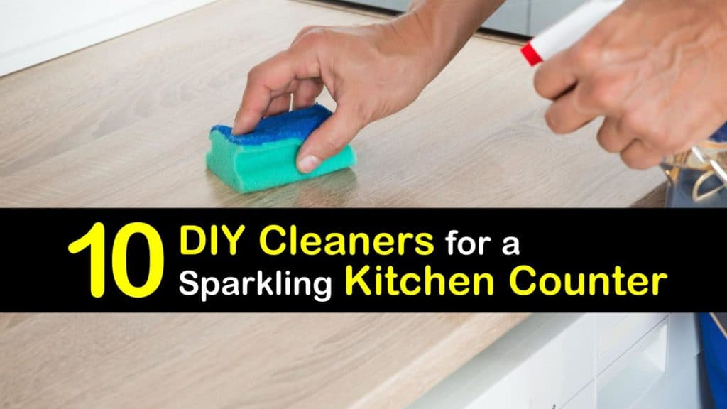Homemade Kitchen Counter Cleaner titleimg1