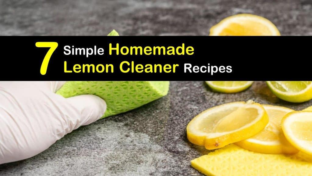 Homemade Lemon Cleaner titleimg1