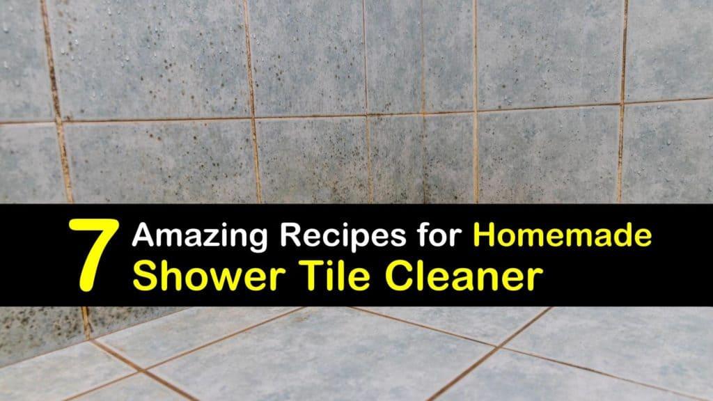 Homemade Shower Tile Cleaner titleimg1
