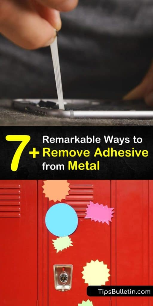 Learn how to get adhesive off metal, whether it's dried Super Glue or sticker residue. Try scraping with a scraper or razor blade, applying a solvent like rubbing alcohol or baby oil, or heating with a hair dryer. Wash with soapy water after removing adhesive residue. #adhesive #metal #remove