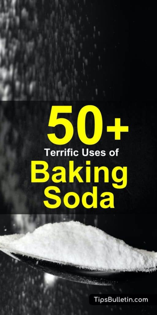 Baking soda is such a versatile home remedy. Find over 50 simple yet powerful uses for baking soda at home.