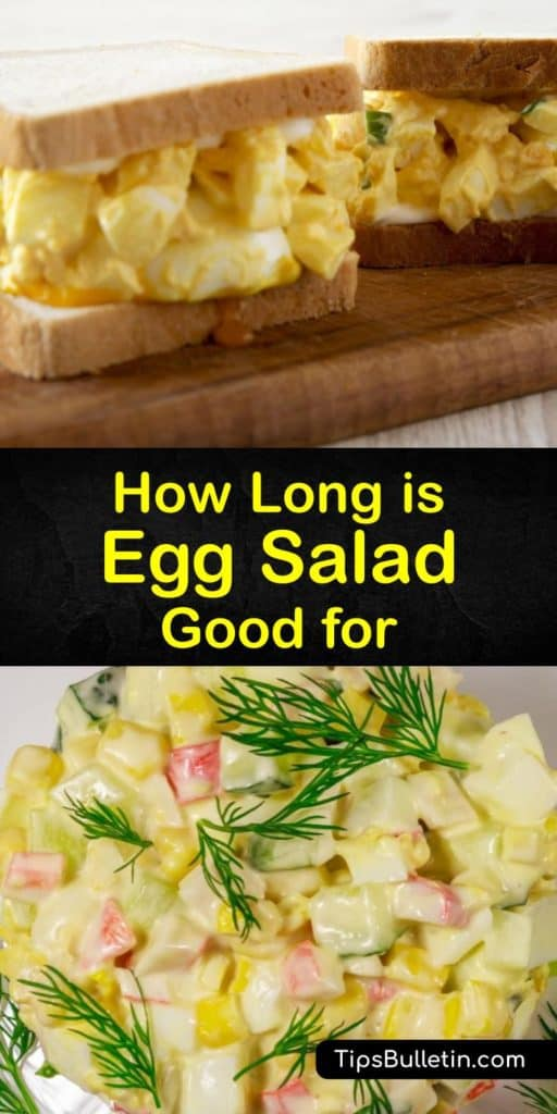 Make a classic egg salad that is low in cholesterol when you replace mayonnaise with Greek yogurt. Hard-boiled, diced fresh eggs make for delicious deviled eggs and an amazing egg salad sandwich. Follow these tricks to know how to make your egg salad last longer. #howlong #lasts #egg #salad #fresh