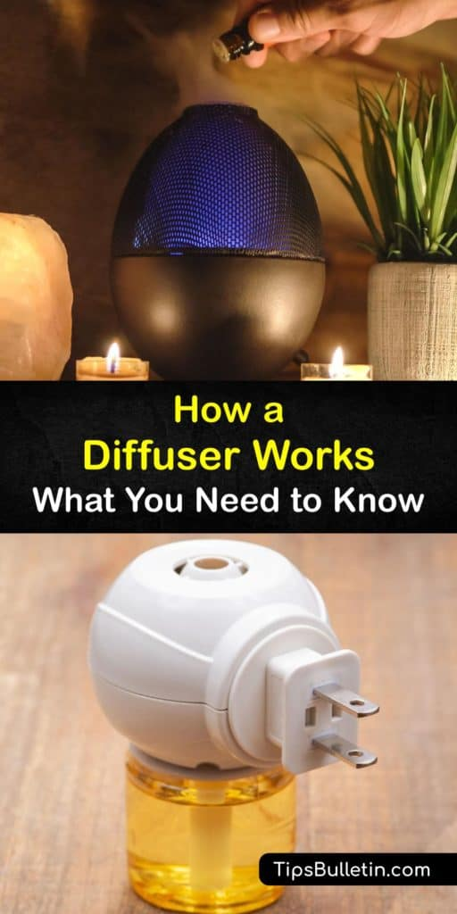 There are many health benefits to using essential oils, but how do essential oil diffusers work? Unlike a humidifier, ultrasonic and evaporative diffusers emit fine mist and oil particles into the air through diffusion to promote wellness. #diffuser #how #operate #essentialoils