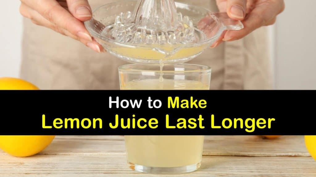 How Long does Lemon Juice Last titleimg1