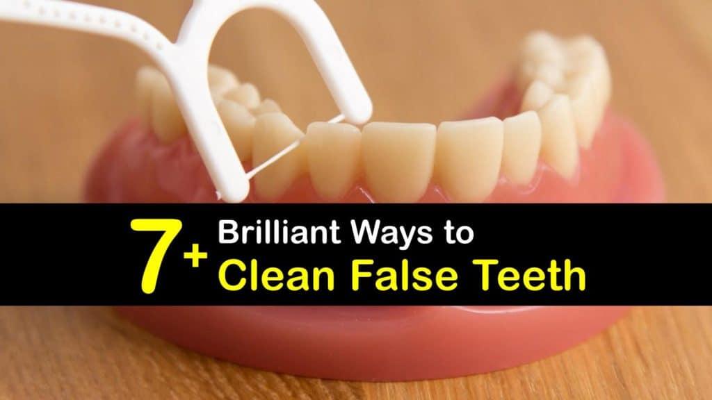 How to Clean False Teeth titleimg1
