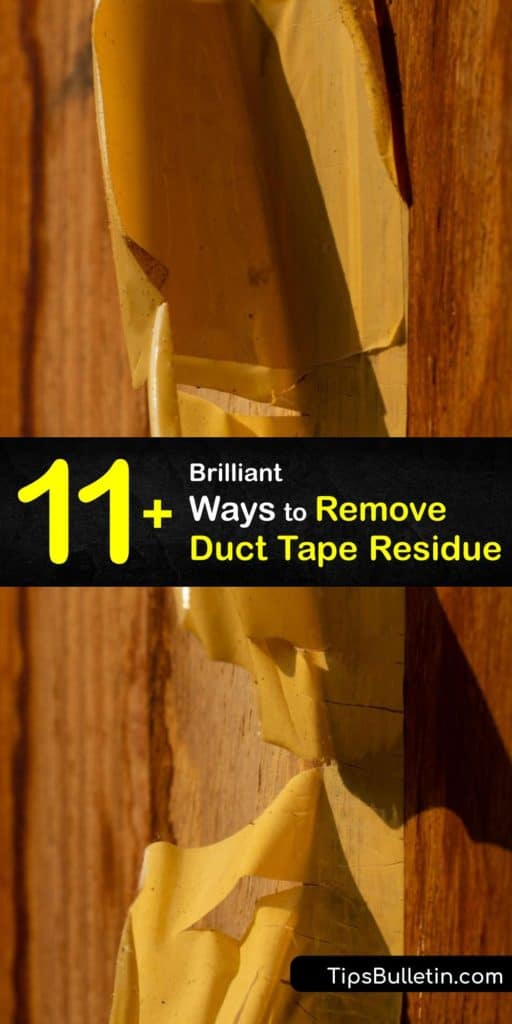 Say goodbye to sticky residue from duct tape and masking tape. Use a hairdryer, warm water with dish soap, or nail polish remover. Learn how to make a safe and natural alternative to Goo Gone using baking soda, coconut oil, and essential oils. #howto #remove #duct #tape #residue