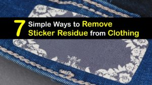 How to Remove Sticker Residue from Clothing titleimg1