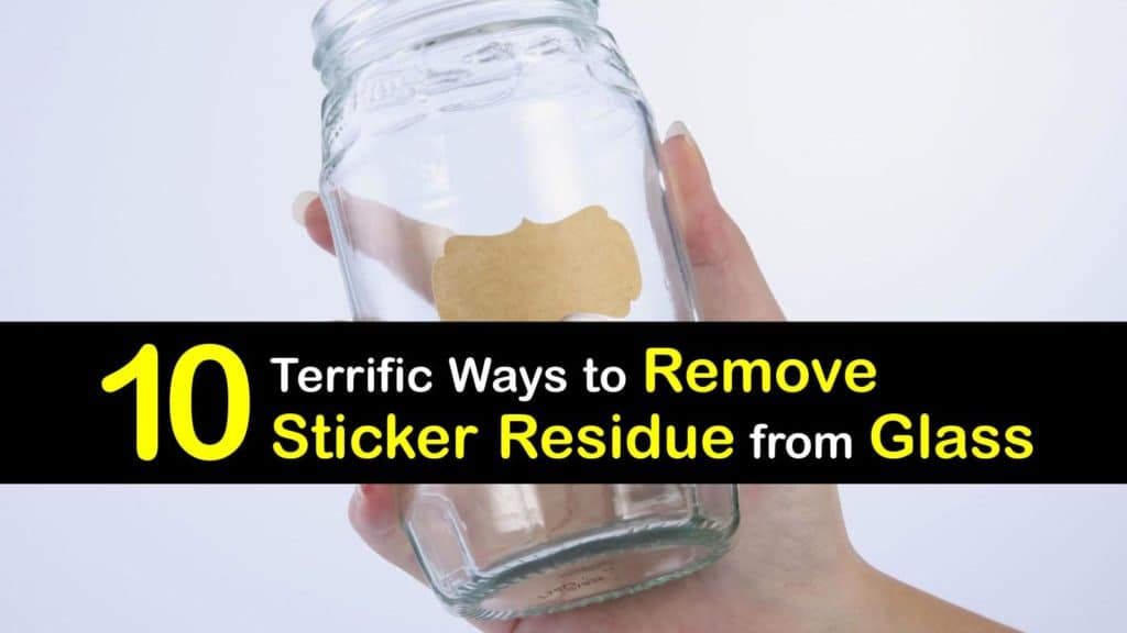 How to Remove Sticker Residue from Glass titleimg1