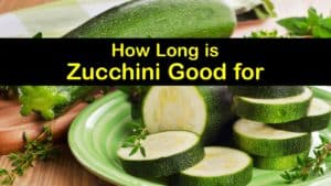 How Long is Zucchini Good for titleimg1