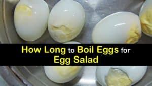 How Long to Boil Eggs for Egg Salad titleimg1