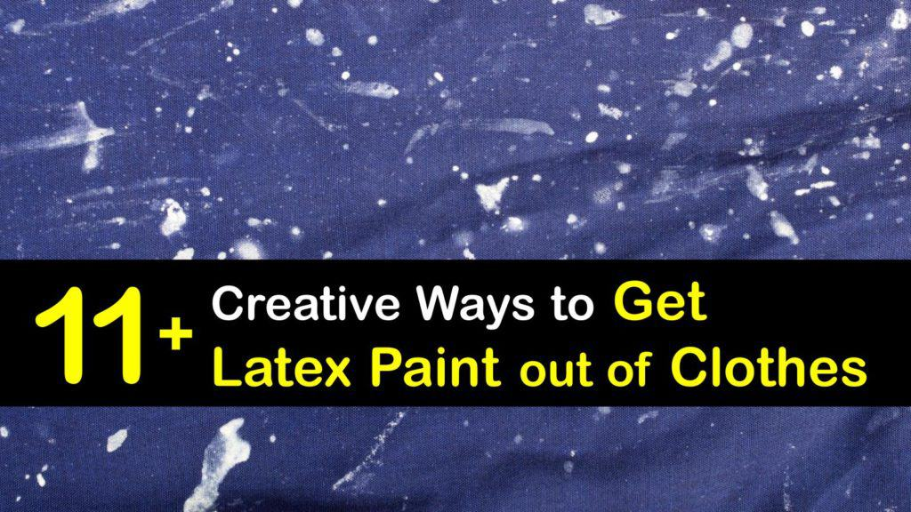 How to Get Latex Paint Out of Clothes titleimg1