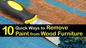 How to Remove Paint from Wood Furniture titleimg1