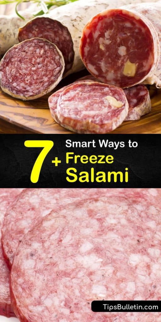 Learn how to freeze salami to extend its shelf life after purchasing your cold cuts from the deli counter. While it's safe to keep salami or pepperoni in wax paper in the fridge, the best way to freeze this lunch meat is to use freezer bags. #freeze #salami