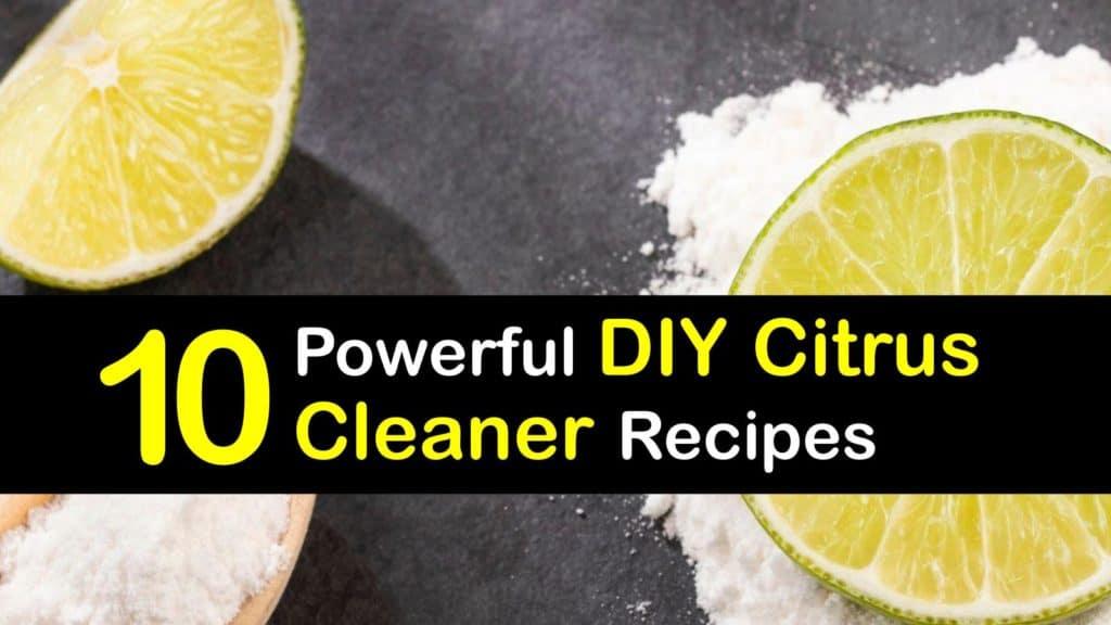Homemade Citrus Cleaner titleimg1
