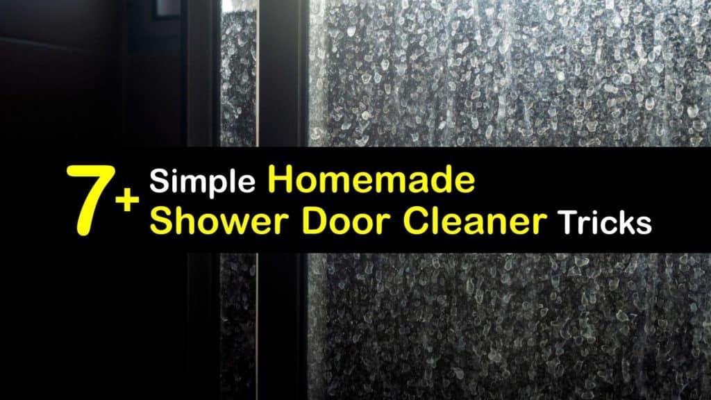 Homemade Shower Door Cleaner titleimg1