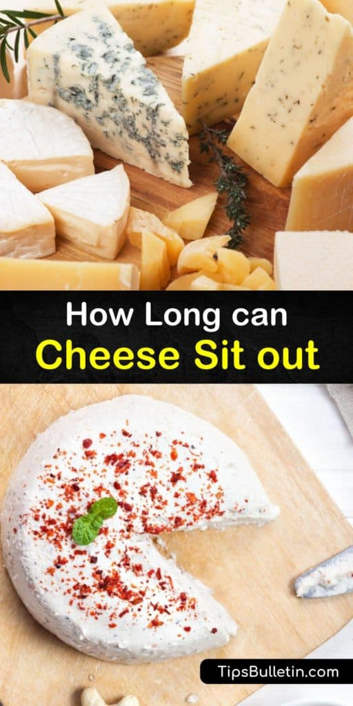Discover the different cheese types and how long they last. Unrefrigerated soft cheeses, such as cream cheese, brie, mozzarella, and camembert, are not ideal for storing at room temperature for too long due to bacterial growth, but hard cheeses last a little longer. #how #long #cheese #room #temp