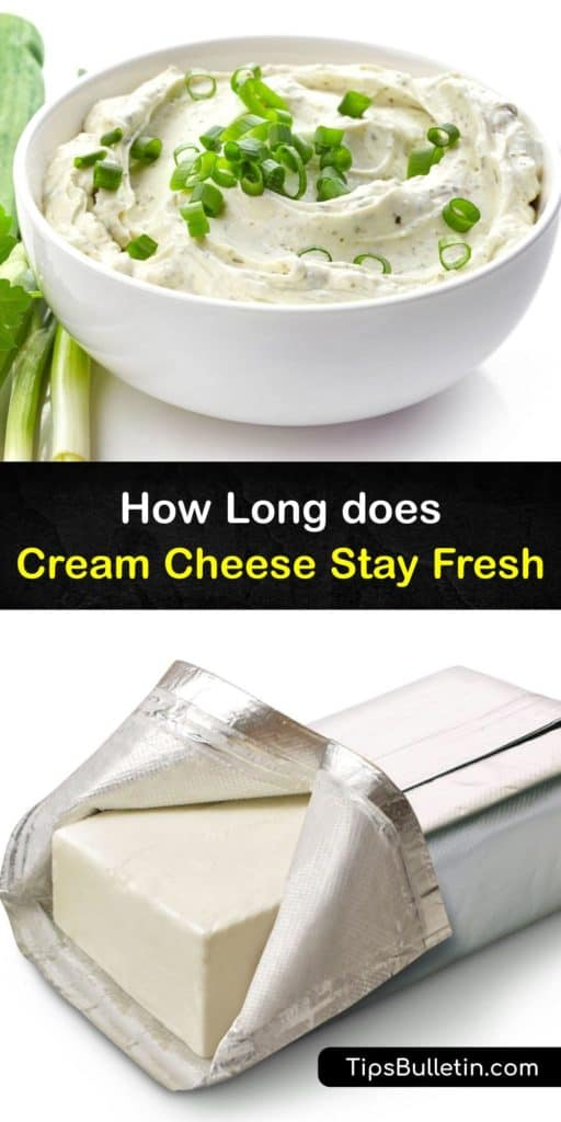 Learn how to extend the shelf life of cream cheese and avoid spoilage after its expiration date. Once open, keep it in an airtight container, and don't let it sit out at room temperature. Enjoy it on a bagel or in cheesecake. #cream #cheese #fresh #last