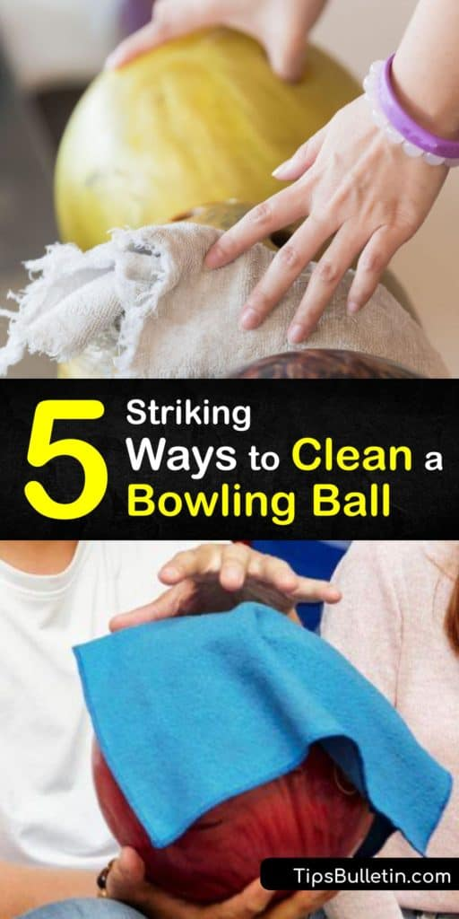 Get closer to a perfect score when you use this bowling ball cleaner list that helps remove buildup with only hot water, dish soap, and a microfiber towel. These ball cleaning methods remove oil and create friction that even a pro shop has a hard time achieving. #clean #bowling #ball