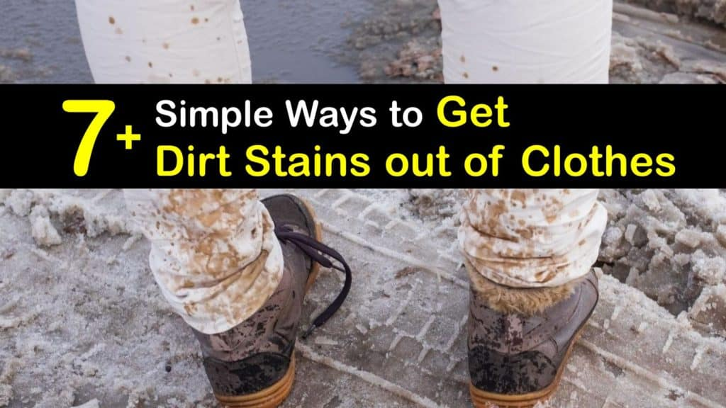 How to Get Dirt Stains out of Clothes titleimg1