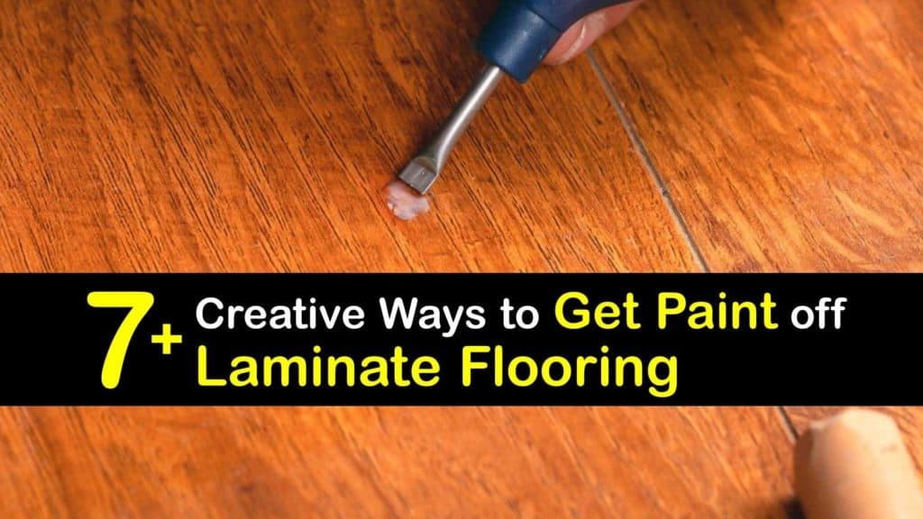 How to Get Paint off Laminate Flooring titleimg1