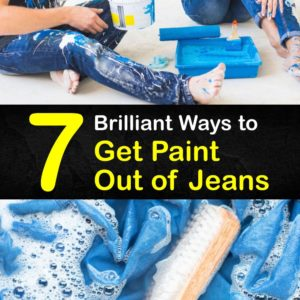 How to Get Paint Out of Jeans titleimg1