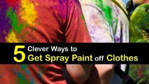 How to Get Spray Paint off Clothes titleimg1