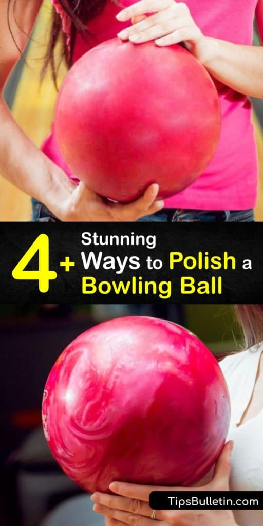 Learn how to clean and polish the coverstock of your bowling ball for the best bowling action. Clean it with a microfiber towel after each game, deep clean the ball by taping the finger holes and doing a hot water soak, and resurface it by sanding with an Abralon pad. #howto #polish #bowling #ball