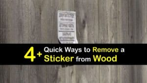 How to Remove a Sticker from Wood titleimg1