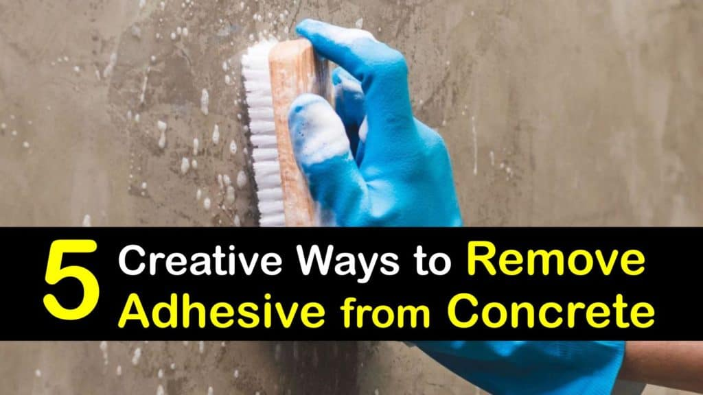 How to Remove Adhesive from Concrete titleimg1