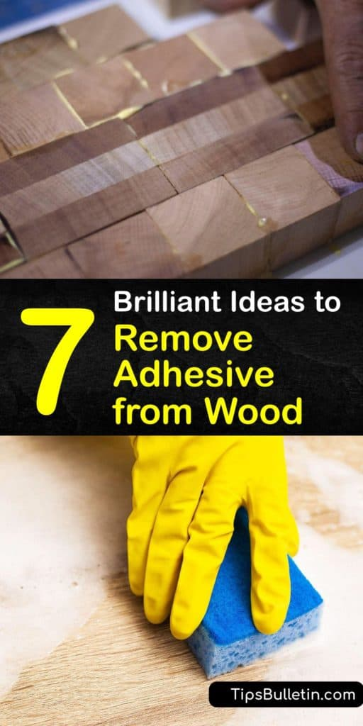 Learn how to get adhesive off wood, whether it's sticker residue or old glue. Try scraping with a credit card, scrubbing with sandpaper, or applying rubbing alcohol or Goo Gone with a cotton swab. When you've finished, wipe the affected area with a clean cloth. #adhesive #remove #glue #wood