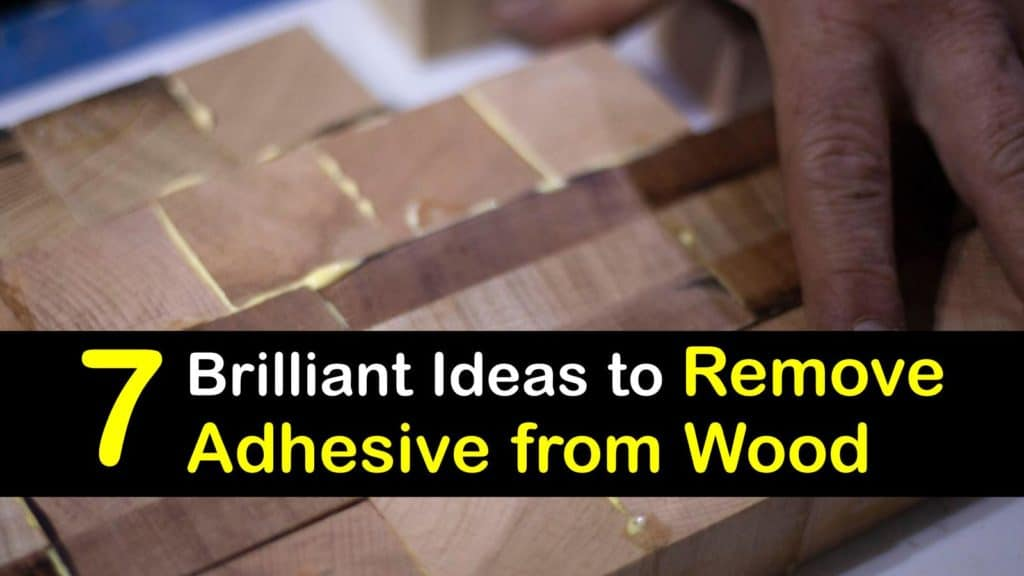 How to Remove Adhesive from Wood titleimg1