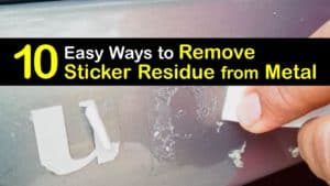 How to Remove Sticker Residue from Metal titleimg1