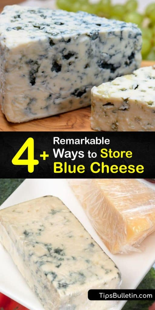 Learn how to store blue cheese in the fridge and freezer to extend its shelf life. Wrap soft and hard cheeses, such as Parmesan, brie, or blue cheese, in parchment paper and keep them in the crisper drawer to prevent drying, or wrap them in aluminum foil for the freezer. #howto #store #blue #cheese