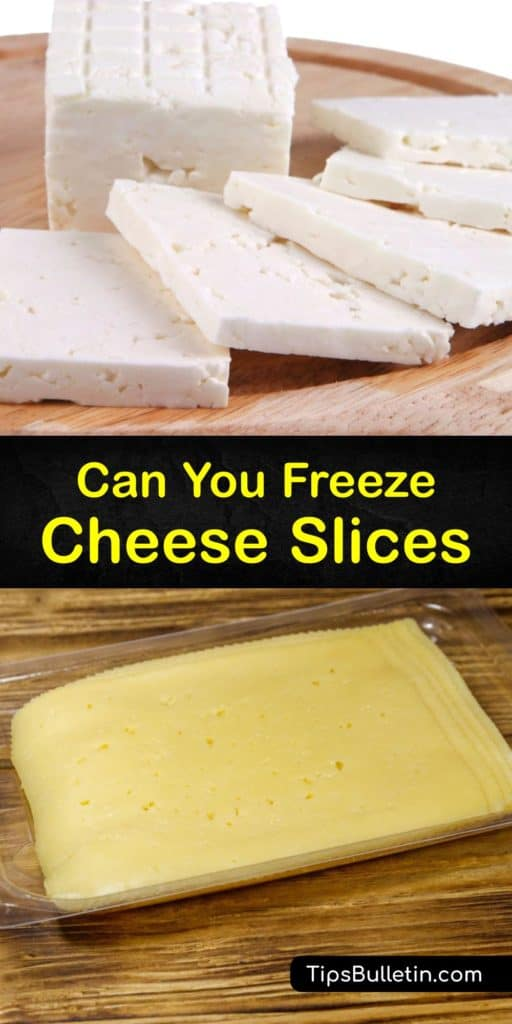 Read our tips for freezing cheese slices, from choosing a cheese to wrapping it. Instead of Brie, American cheese, or Parmesan, try hard or semi-hard cheeses like Cheddar. Insert parchment paper between the pieces of sliced cheese, then wrap with aluminum foil. #cheese #slices #freeze