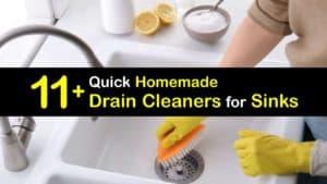 Homemade Drain Cleaner for Sink titleimg1