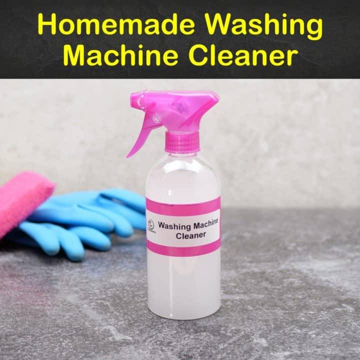 Homemade Washing Machine Cleaner