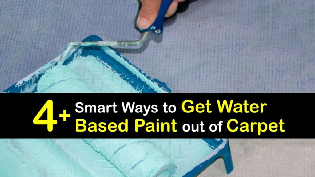 How to Get Water Based Paint out of Carpet titleimg1