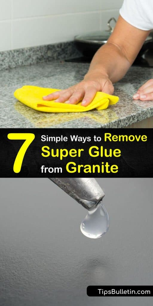 Discover how to remove super glue from your granite countertop. Scrubbing a glue stain with a cotton ball soaked in acetone is effective. Use a putty knife and paper towel to remove the excess residue. Avoid scraping granite with sandpaper or a razor blade. #remove #superglue #granite