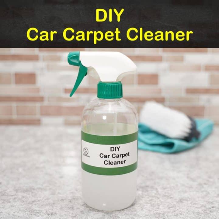 DIY Car Carpet Cleaner