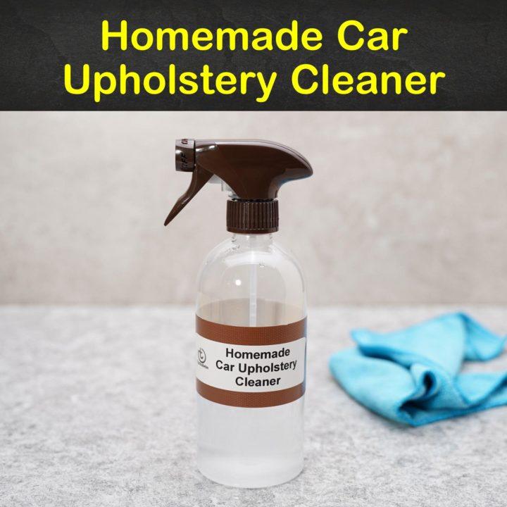 Homemade Car Upholstery Cleaner
