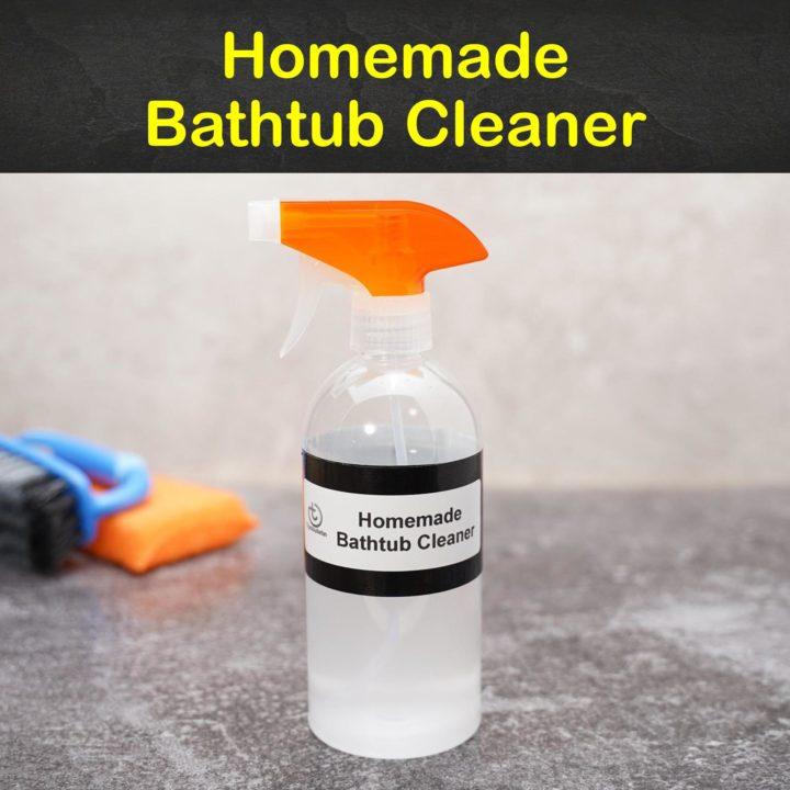 Homemade Bathtub Cleaner