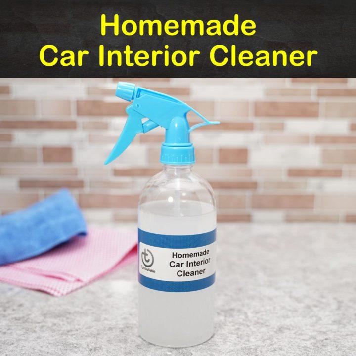 Homemade Car Interior Cleaner