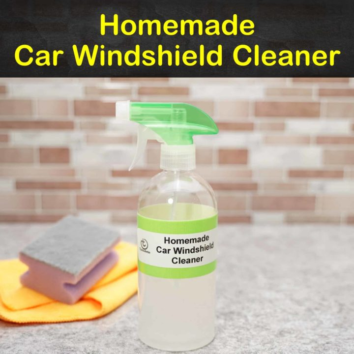 Homemade Car Windshield Cleaner