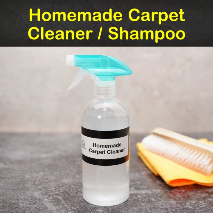 Homemade Carpet Cleaner / Shampoo